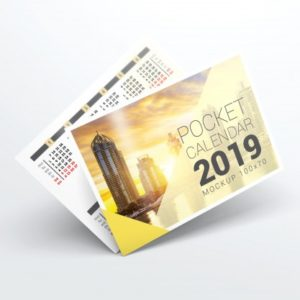 calendar de buzunar
